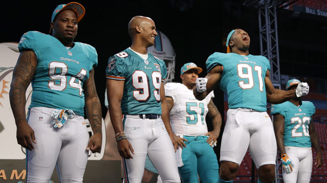 937a89285 Dolphins new uniforms have brighter colours - Sportsnet.ca