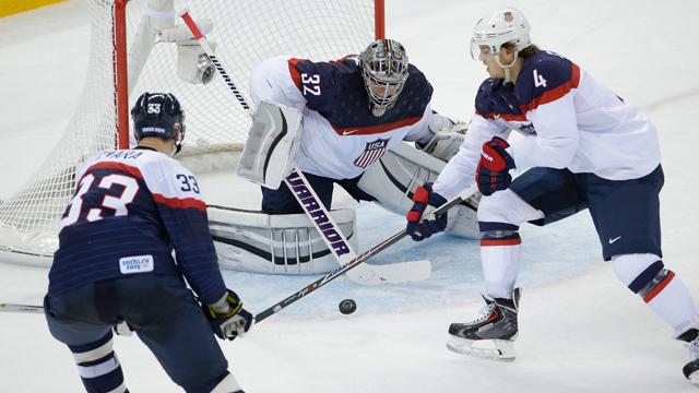 Sochi: American Hockey Team Comes To Life