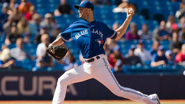What do Jays do with surplus of bullpen arms?