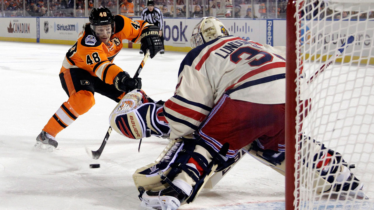 Top Outdoor Moments  2  Lundqvist stones Briere on penalty shot -  Sportsnet.ca fd9579be3
