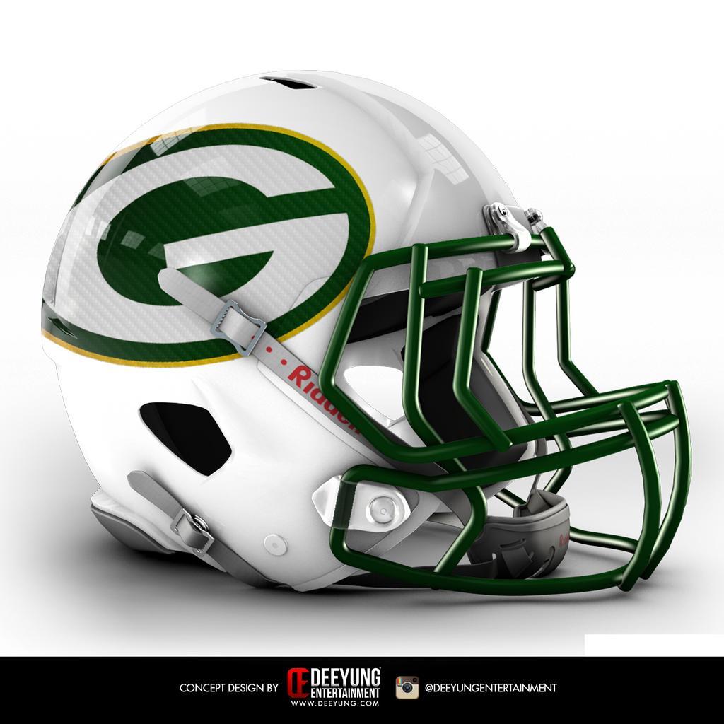 New Helmet Design Nfl