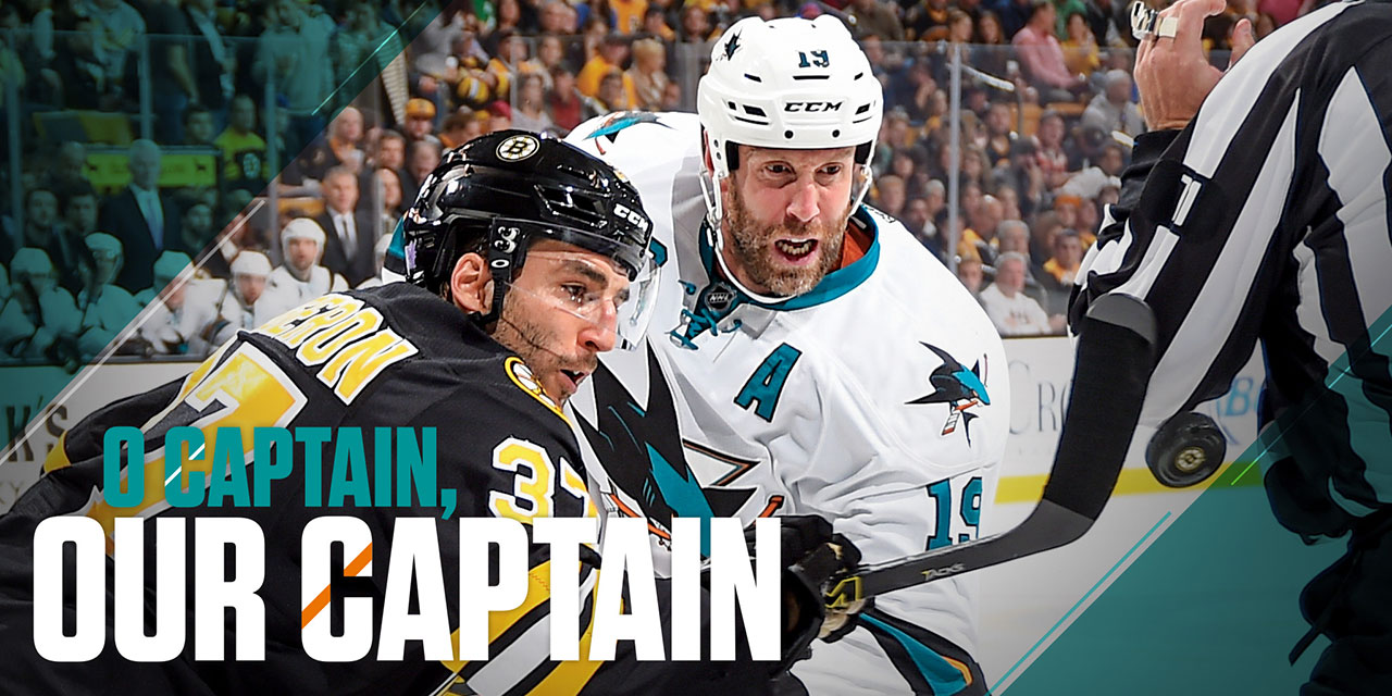 Big Read: Joe Thornton Still San Jose's Leader