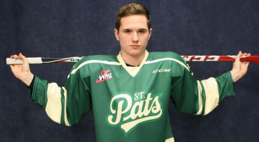 Regina Pats green St. Patrick s Day jerseys. (Twitter WHLPats) 07ca465b2d0