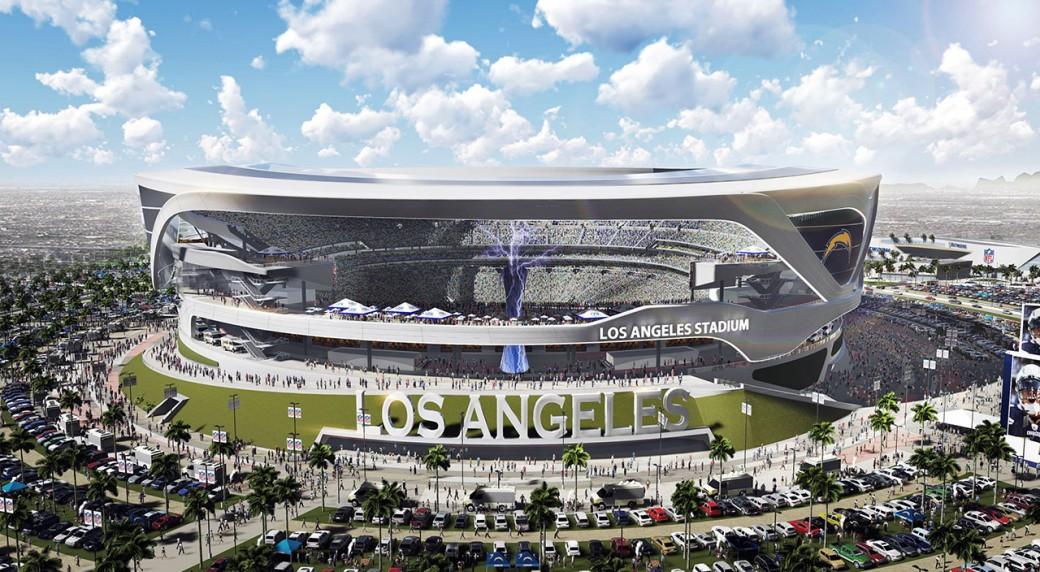 Proposed Los Angeles Stadium Releases New Designs