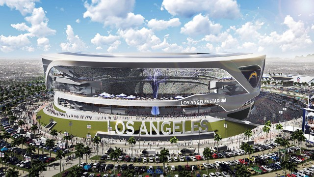 Proposed Los Angeles Stadium Releases New Designs