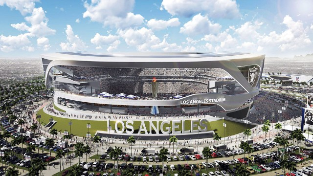 Shared Chargers Raiders Stadium Takes New Step Sportsnet Ca