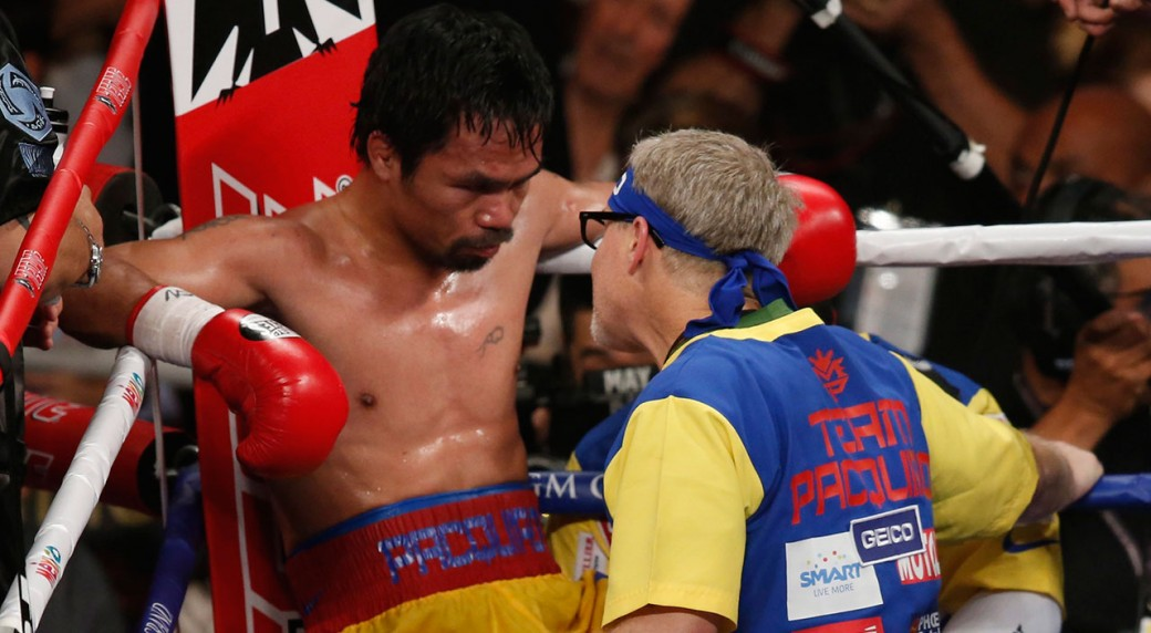 premium selection cc372 22845 Manny Pacquiao clarifies his split with trainer Freddie Roach is not final