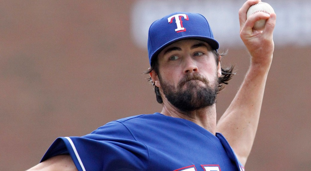 Hamels Rangers Beat Tigers To Hold Onto Wild Card Spot