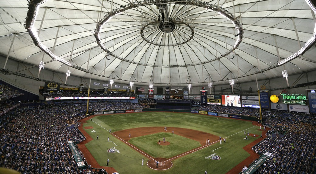 Rays trimming capacity at Tropicana Field by more than 5,000