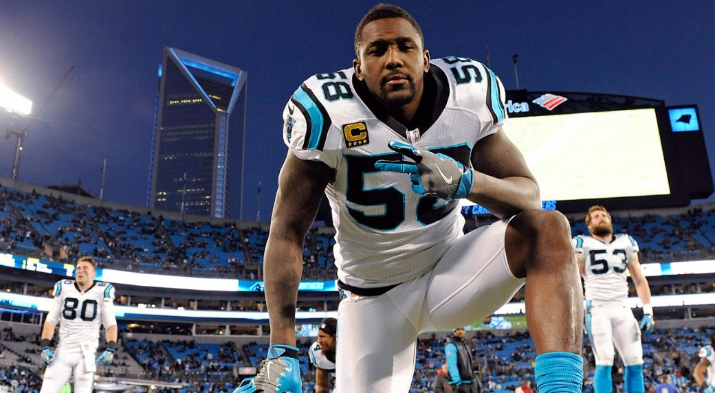 620755d929c Former Panthers linebacker Thomas Davis signing with Chargers.  davis thomas. Thomas Davis