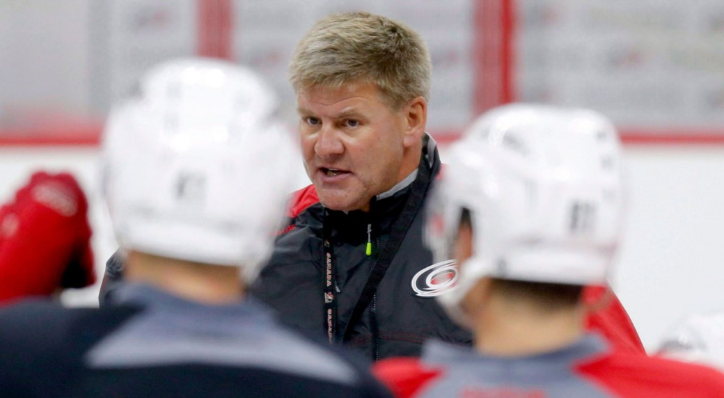 Carolina Hurricanes coach Bill Peters resigns class=