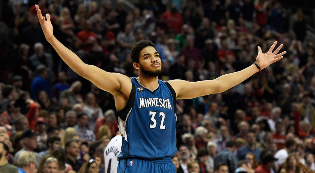 Timberwolves  Towns named unanimous winner of rookie of the year. Minnesota  Timberwolves ... 03fd71aea