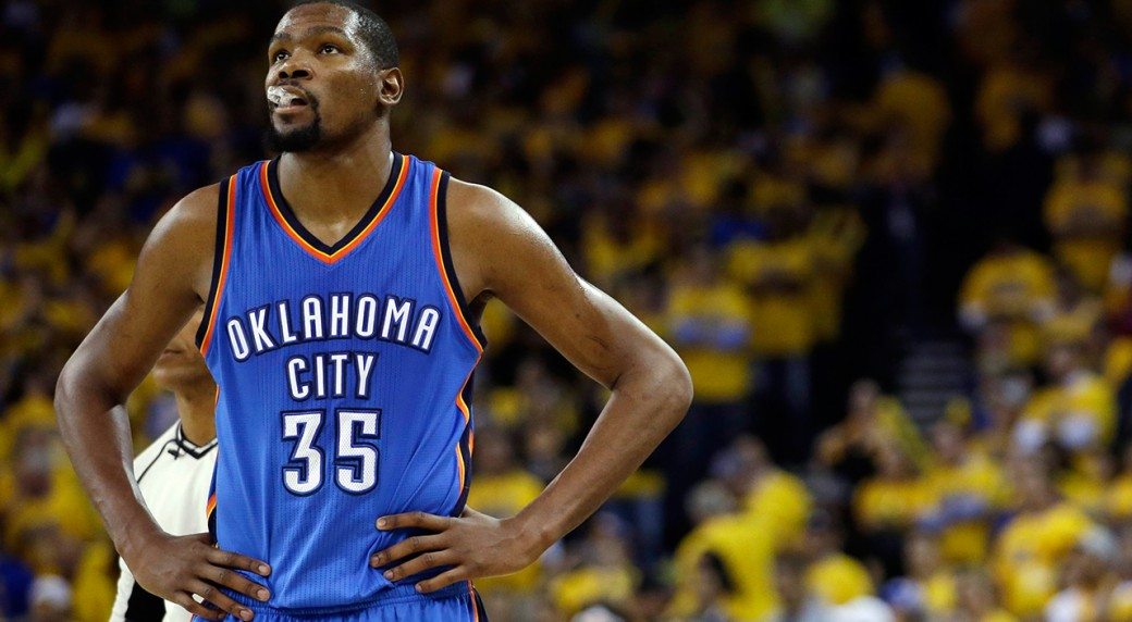 c7373db42 Will OKC playoff run keep Kevin Durant in Thunder uniform ...