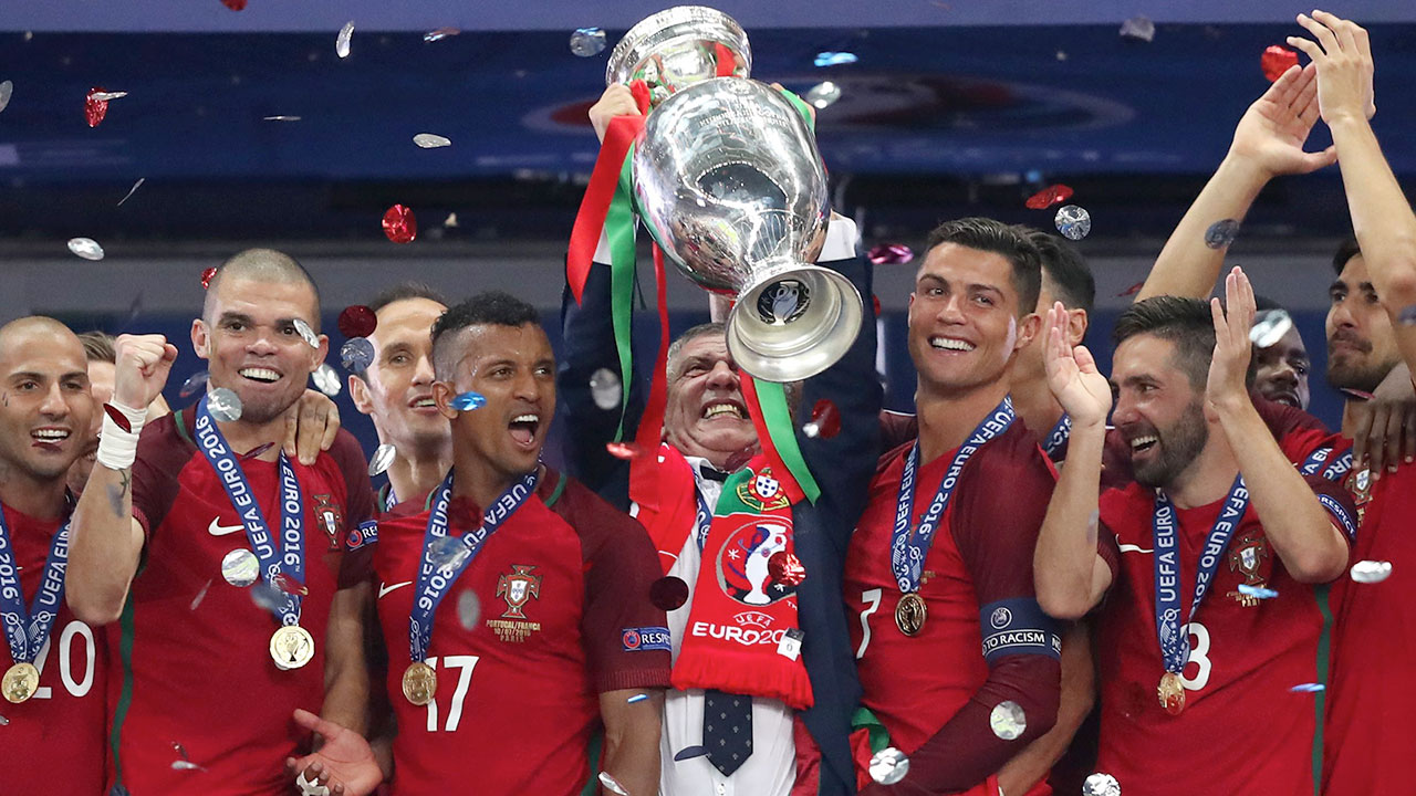 Portugal heads to Russia with 13 players from Euro 2016 win