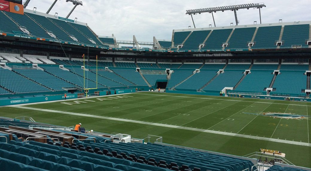 Dolphins Home Has A New Name Hard Rock Stadium