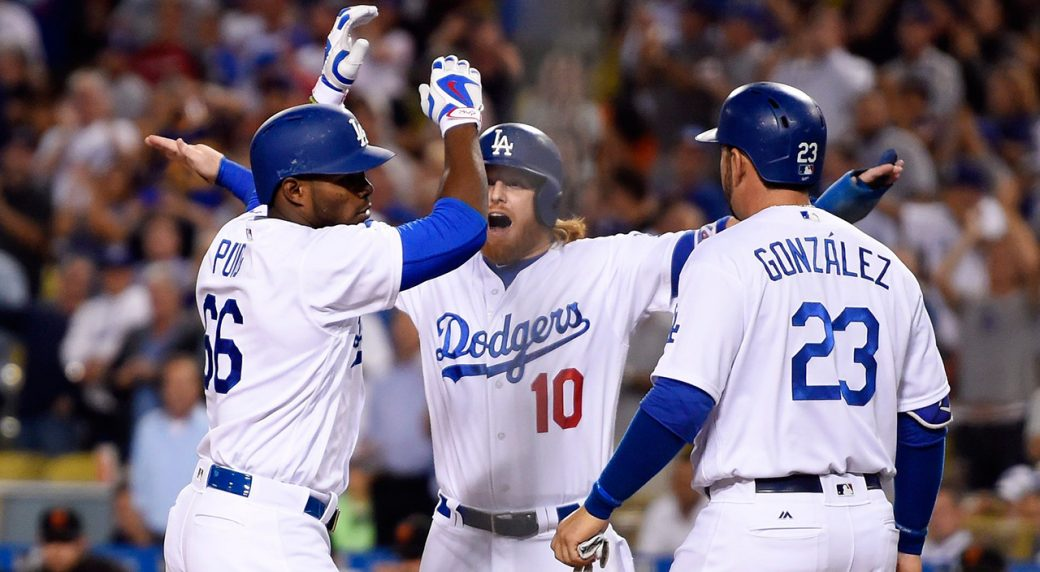 Dodgers rout Giants to extend NL West lead to six games - Sportsnet.ca cd1533c04