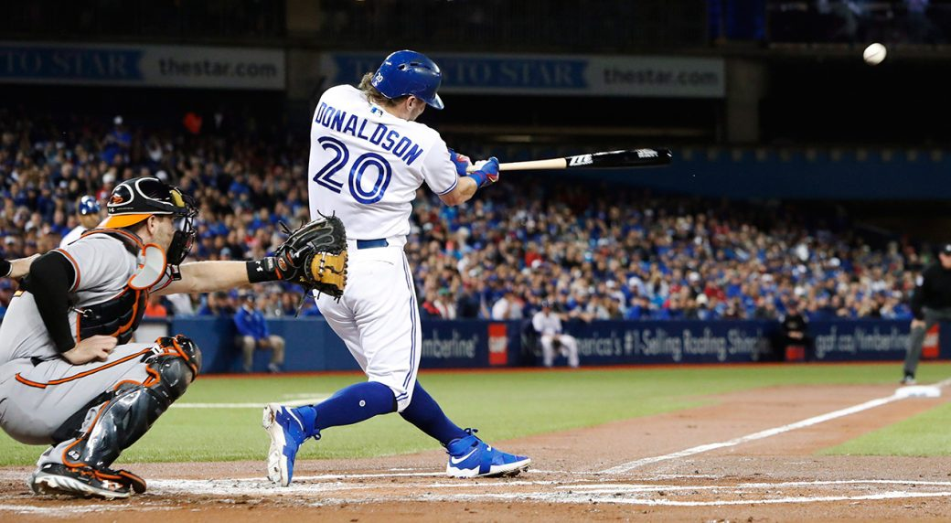 Toronto Blue Jays Third Baseman Josh Donaldson Mark Blinch Cp