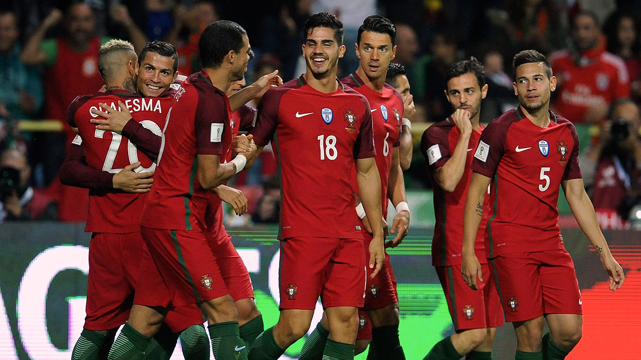 Andre Silva's hat trick helps Portugal rout Faroe Islands ...