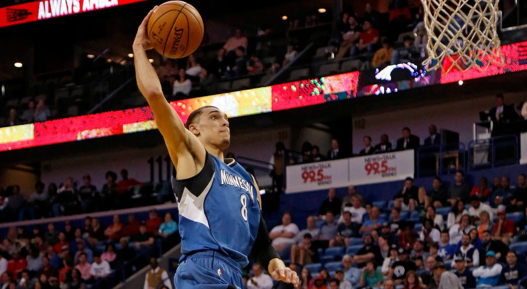the slam zach lavine is a 360 free throw line dunking alien