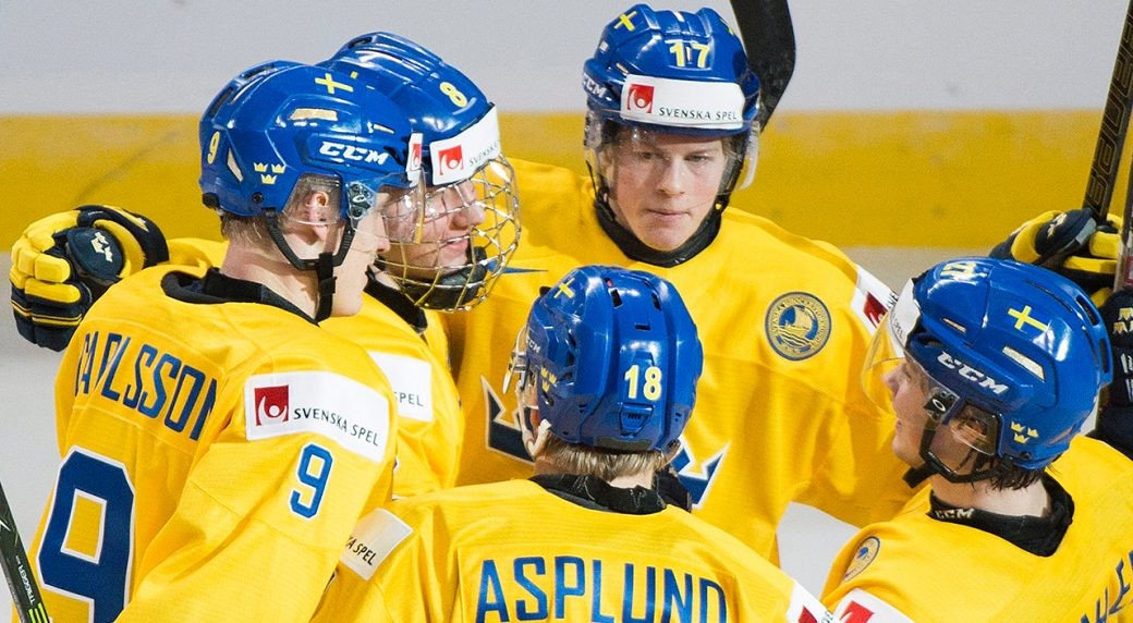 WJC: Swedish Youngster Dahlin Turns Heads In First Tournament Game