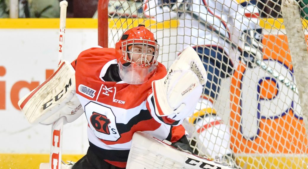 OHL: Roundup - Leo Lazarev Makes 43 Saves As 67's Down Frontenacs