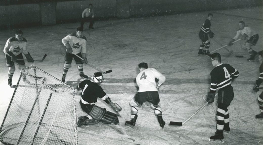 Big In Japan The Story Of The 1954 Kenora Thistles