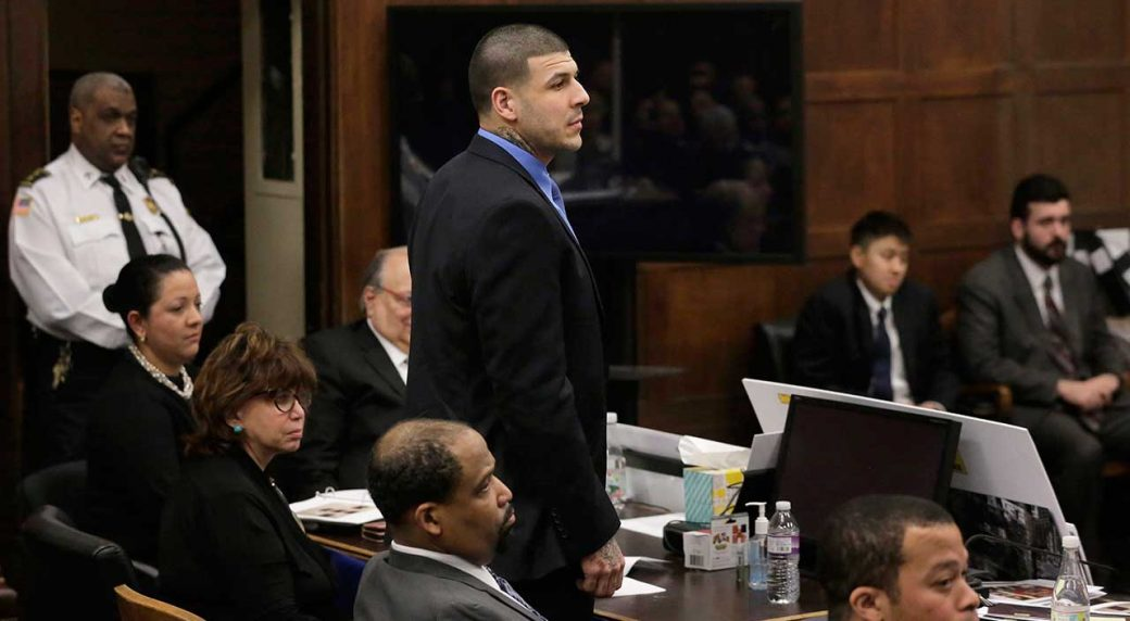 Aaron Hernandez's 2015 Murder Conviction Is Thrown Out