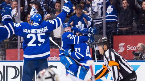 Caps Suffer Second Overtime Loss As Leafs Take Advantage Of Late Penalty (video)