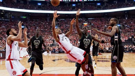 Image result for Lowry bucks game 5