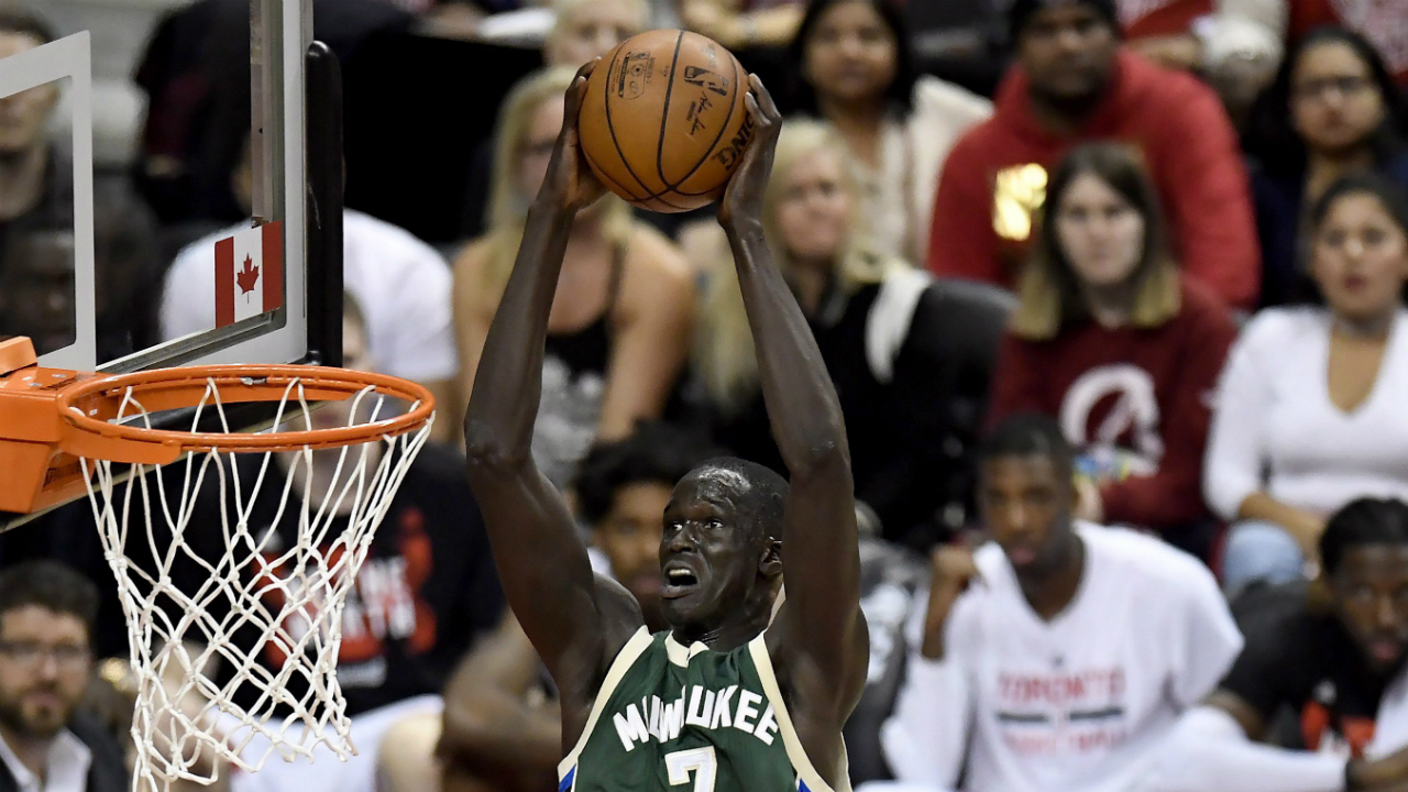 bucks u0026 39  thon maker making an impact well ahead of schedule