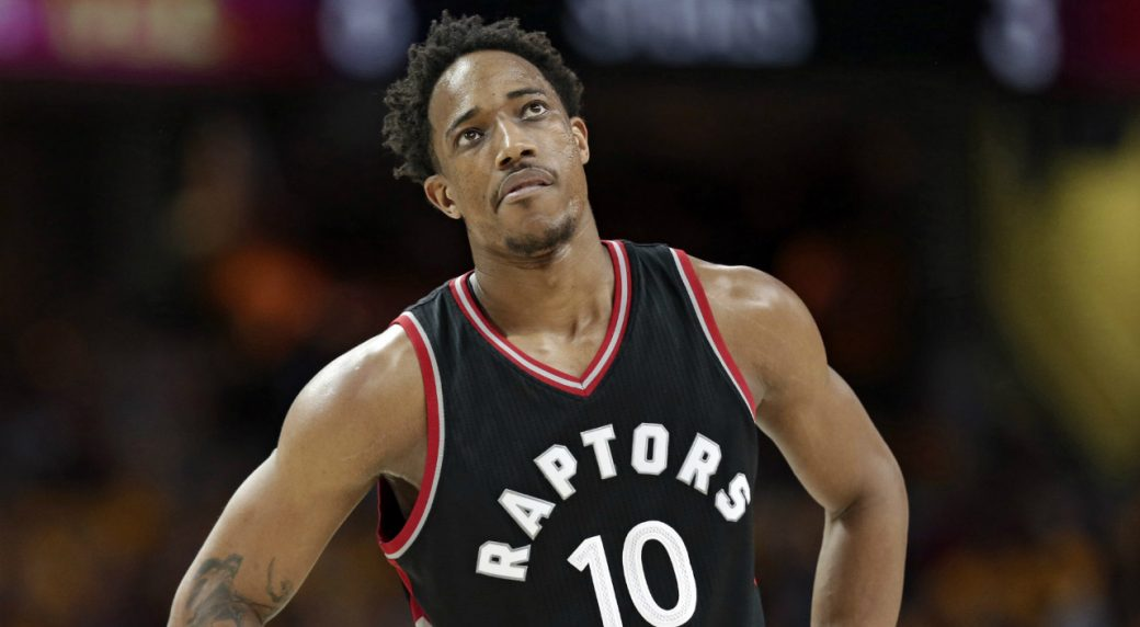 DeMar DeRozan unhappy with Sports Illustrated player rankings