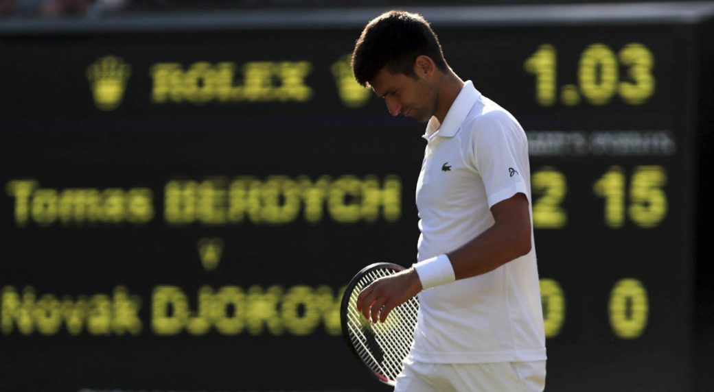 Djokovic to miss final Slam?