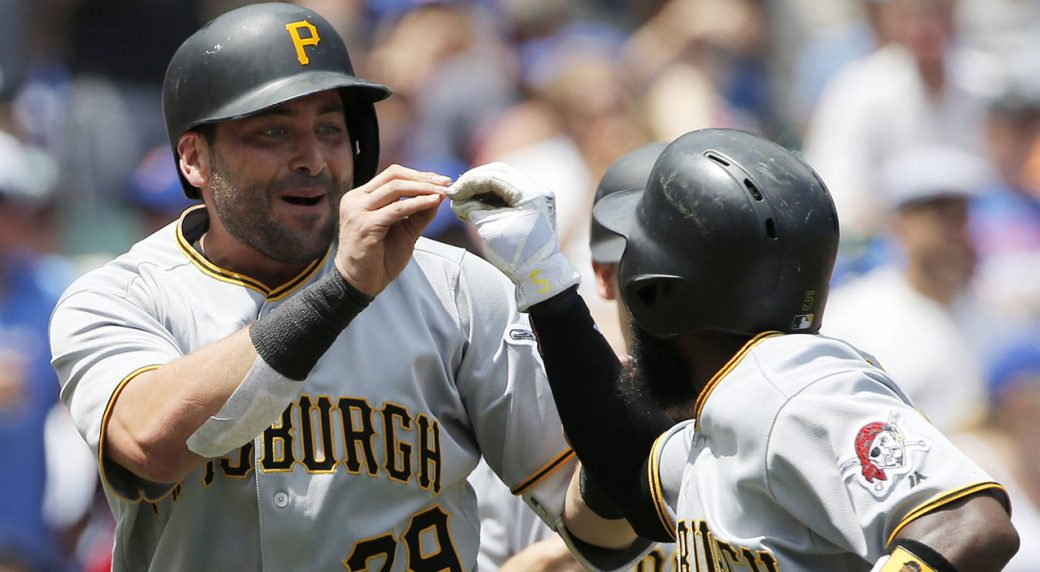 Pirates score 10 runs in first inning off Cubs starter Jon Lester