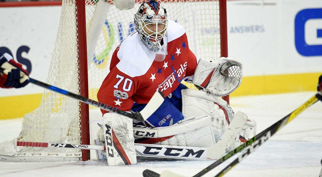 e39464a21ba Who should the Capitals start in the playoffs  Braden Holtby or Philipp  Grubauer