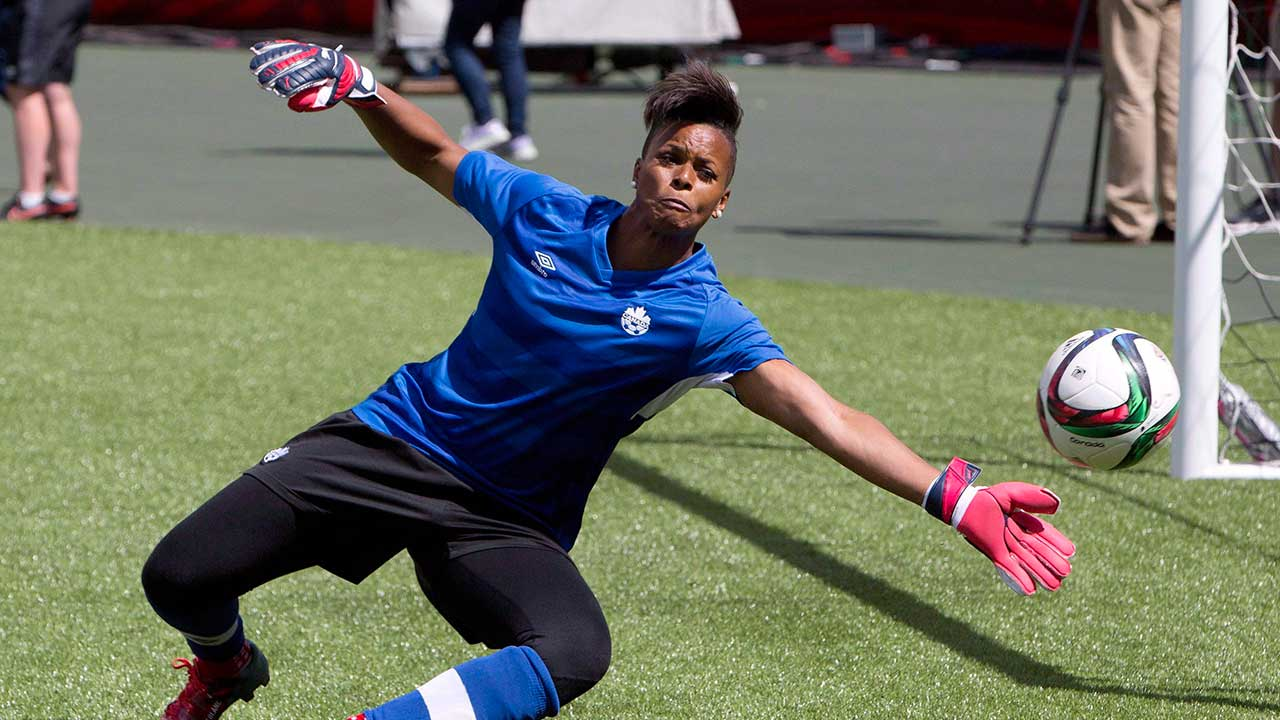 CONCACAF chief Karina LeBlanc looking to grow women's soccer