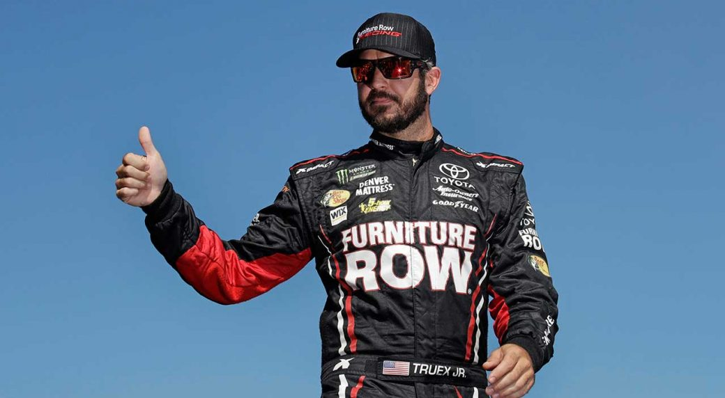 Truex Jr. Beats Field At Charlotte Motor Speedway