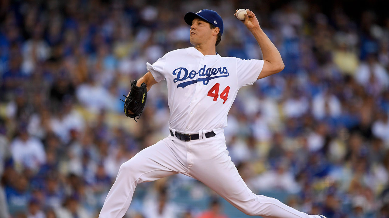 Hill on DL for 2nd time with blister; Kershaw throws 'pen