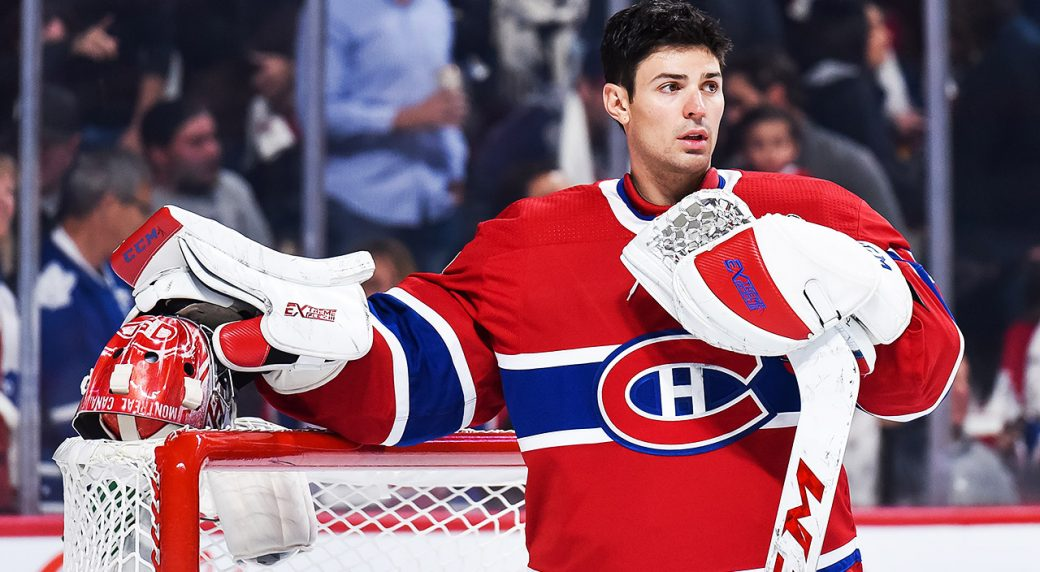Carey Price 10 C would be perfect weather for outdoorBruins
