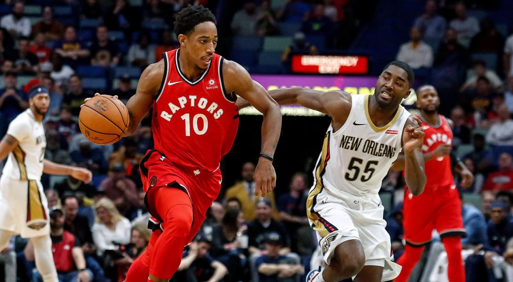 DeMar DeRozan hits game-winning 3-point play over Nets