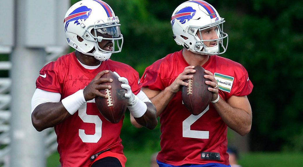 Bills to start Nathan Peterman, bench Tyrod Taylor