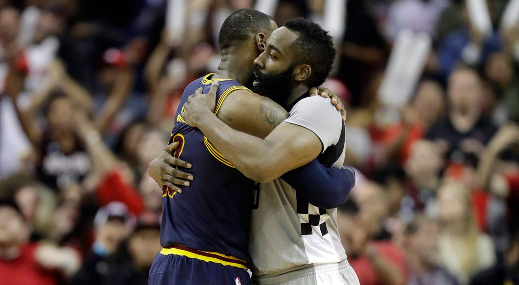 LeBron James and James Harden headline NBA monthly awards ...