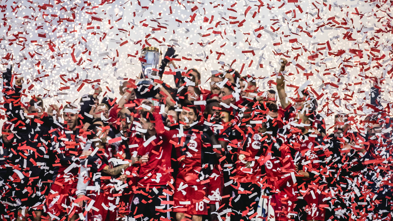 Photo Essay: TFC wins first MLS Cup by Canadian club in thrilling fashion