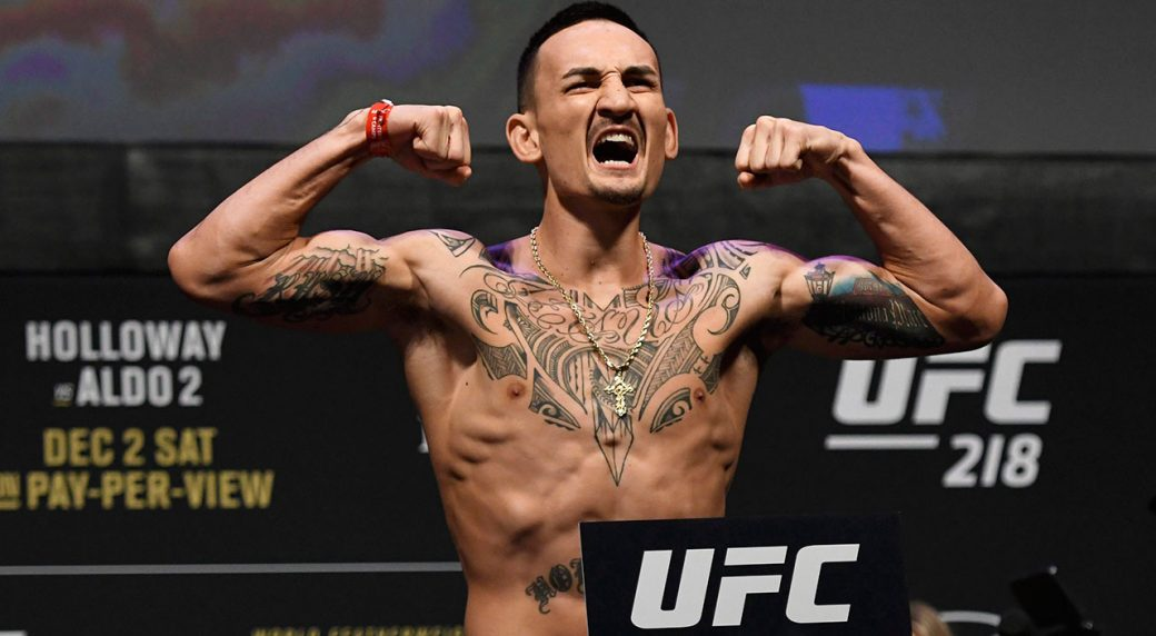 UFC Confirms Max Holloway vs. Frankie Edgar Rebooked
