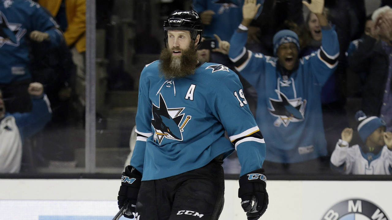 Joe Thornton. (Marcio Jose Sanchez/AP)