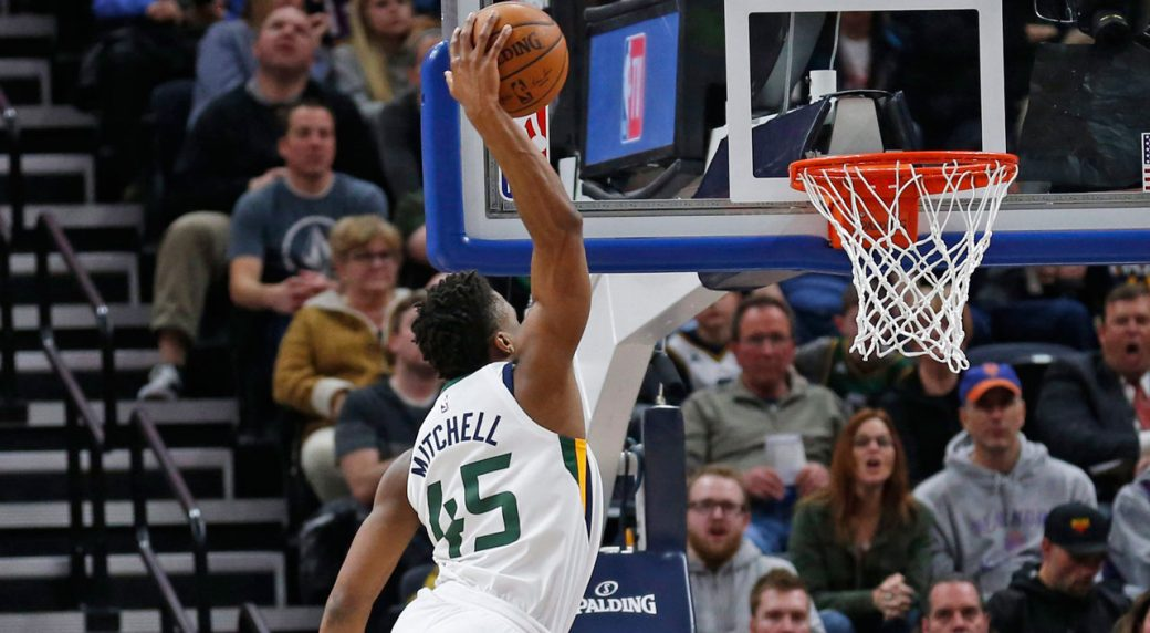 Jazz rookie Donovan Mitchell to compete in Slam Dunk contest ... 98f23aaa7