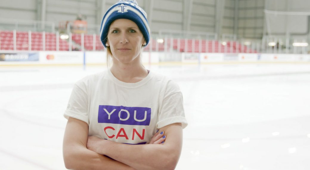 Jessica-Platt-of-the-Toronto-Furies-of-the-Canadian-Women's-Hockey-League.