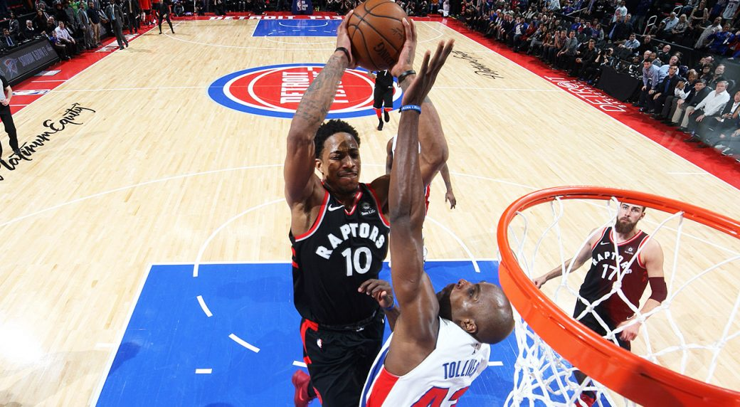 Raptors' DeRozan nominated for NBA's Dunk of the Year - Sportsnet.ca