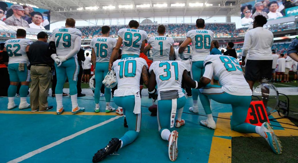 b6846e3f341 Dolphins  Kenny Stills would prefer NFL had no anthem policy ...