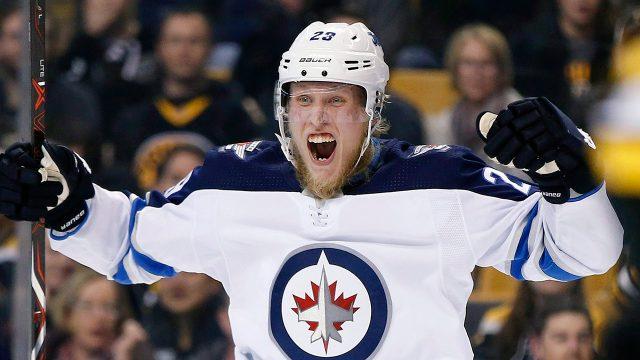 Winnipeg-Jets-forward-Patrik-Laine-celebrates-a-goal