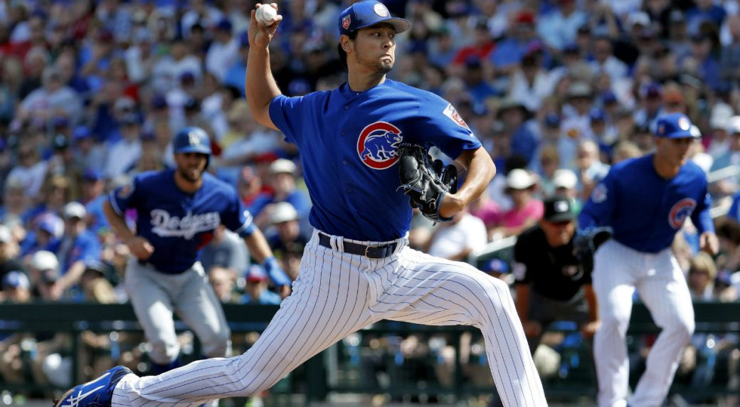 Cubs' Darvish Removed After 1 Inning In Rehab Start